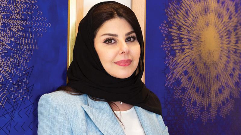 الفنانة السعودية لولوة الحمود.