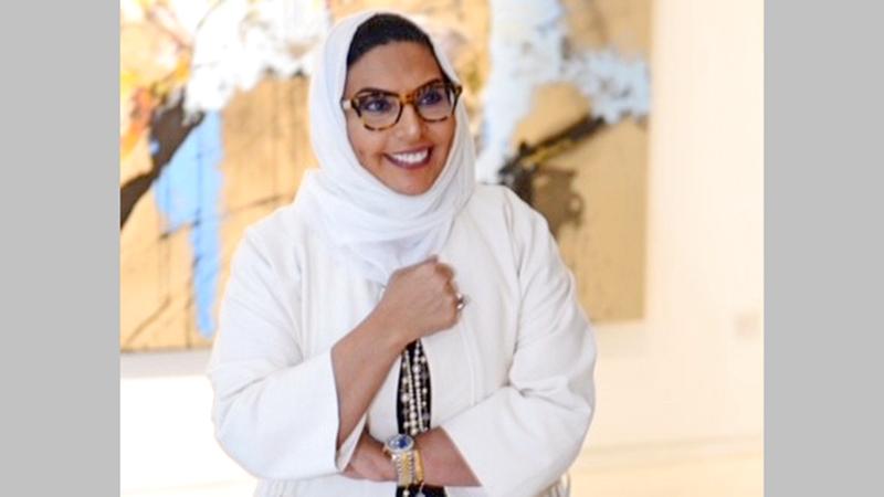 الفنانة الكويتية مي السعد.