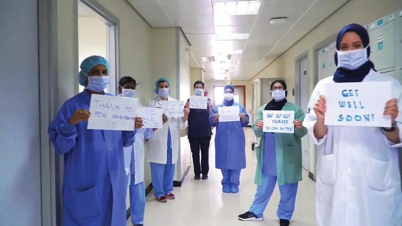 الإجراءات الطبية الإماراتية ترقى إلى أعلى المعايير العالمية.  أرشيفية