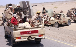 الصورة: «التحالف» يدمر مسيَّرة «مفخخة» أطلقها الحوثيون  باتجاه السعودية
