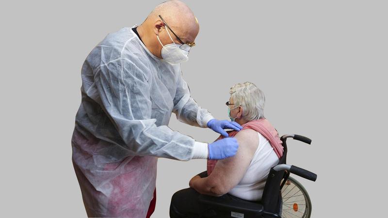 تأخّر التطعيم فاقم الوضع في مختلف الولايات.  أرشيفية