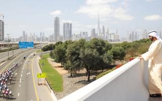 الصورة: محمد بن راشد: شباب الـوطن قادرون على تنظيم وإدارة «طواف الإمارات» بكفاءة عالية