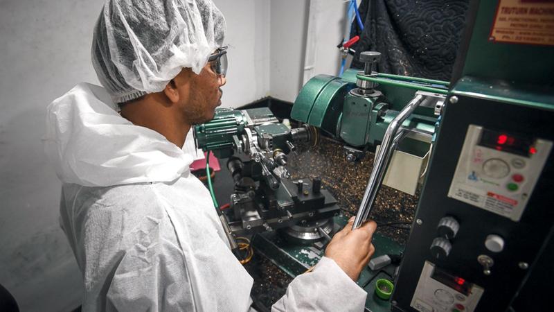 دبي تسعى إلى ترسيخ حضورها ضمن الجهات الرائدة في مجال الثورة الصناعية الرابعة.   أرشيفية