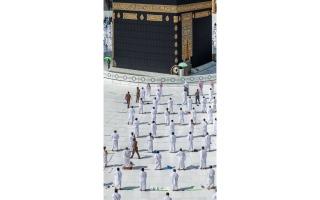 الصورة: بالصور: المسجد الحرام.. بناء شامخ تتوسطه الكعبة المشرفة
