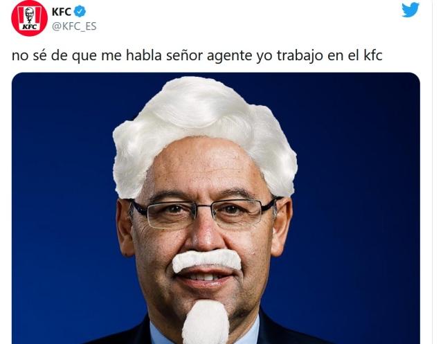 """صورة """"كنتاكي"""" تدافع عن رئيس برشلونة السابق بطريقة ساخرة – رياضة – عربية ودولية"""