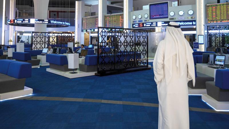 مؤشر «دبي المالي» أنهى تعاملات أمس مرتفعاً 0.68%.  تصوير: أشوك فيرما