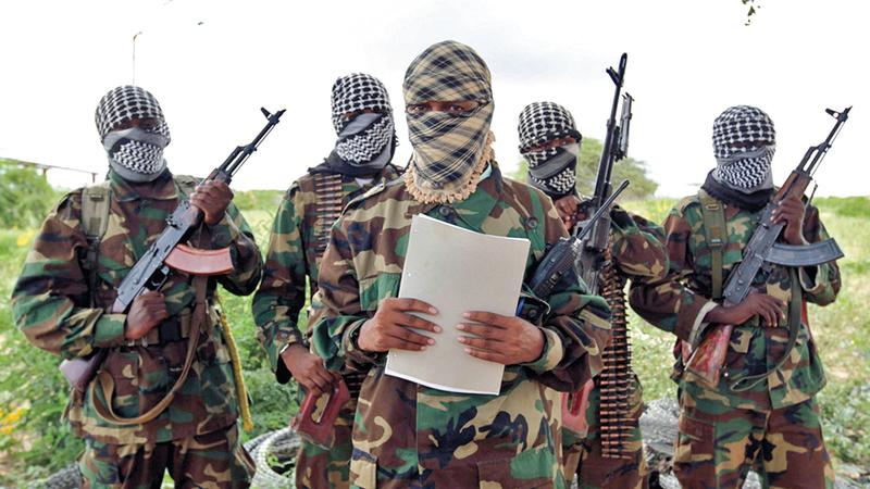 تنظيم الشباب الإرهابي في الصومال يجب أن يكون الهدف الرئيس للقوات الأمنية الحكومية في الصومال.من المصدر