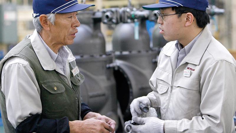 تغيير الهوة بين الأجيال سيستمر في اليابان.   أرشيفية