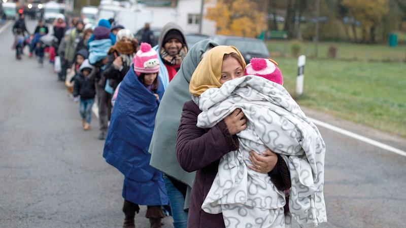 ألمانيا استقبلت العديد من الأشخاص من بلدان الأزمات منذ عام 2015.   إي.بي.إيه