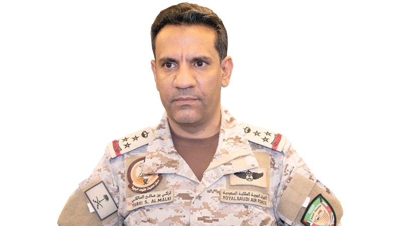 تركي المالكي أكد أن الميليشيات الحوثية الإرهابية تتعمد استهداف المدنيين.   أرشيفية
