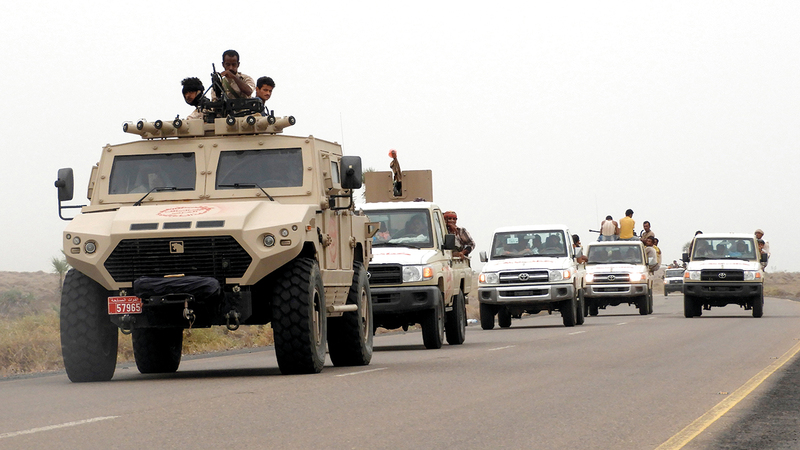 الجيش اليمني يكبد الميليشيات خسائر كبيرة في جبهات عدة.   أرشيفية