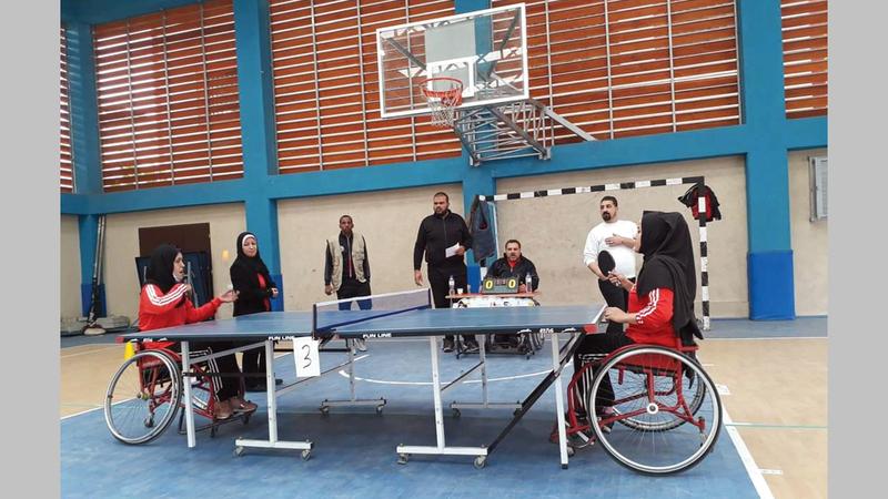 فريق فارسات فلسطين لتنس الطاولة حقق الكثير من الإنجازات.  الإمارات اليوم