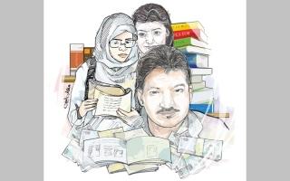 الصورة: 4 متبرعين يتكفلون بالمتأخرات الدراسية لابنتي «فهد»