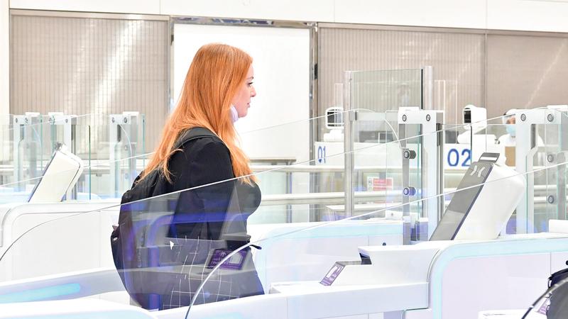 «إقامة دبي» استخدمت النظم الحيوية وتقنيات الذكاء الاصطناعي لتوفير تجربة سفر ذكية.   من المصدر