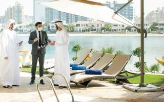 الصورة: «دبي للسياحة»: 89% نسبة الالتزام بالتدابير الوقائية من «كوفيد-19»