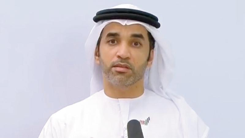 الدكتور سيف الظاهري:  «الإمارات تواصل منهجيتها الخاصة بالفحوص والهادفة إلى الاكتشاف المبكر للحد من انتشار الجائحة».