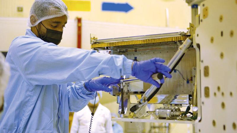 «دي إم سات 1» فرصة لبناء قدرات بحثية وفنية جديدة في مجالات البحث العلمي البيئي.  من المصدر