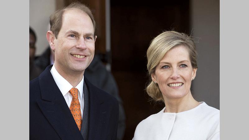 الأمير إدوارد وزوجته تنازلا عن حق أبنائهما في الألقاب الملكية. أرشيفية
