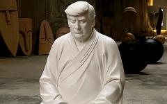 الصورة: تمثال صيني لدونالد ترامب بـ 150 دولاراً أميركياً