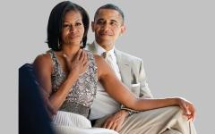 الصورة: أوباما وزوجته ينتجان برنامجاً للمسلمين في رمضان