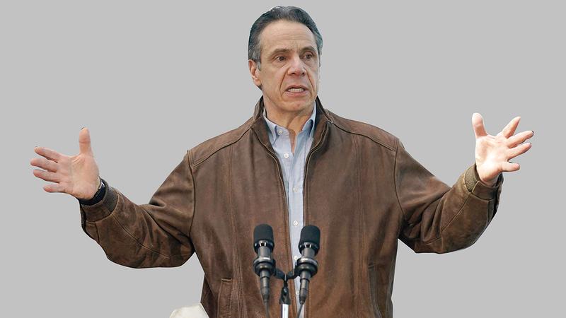 حاكم نيويورك ينفي صحة أيٍّ من الاتهامات.  أ.ف.ب
