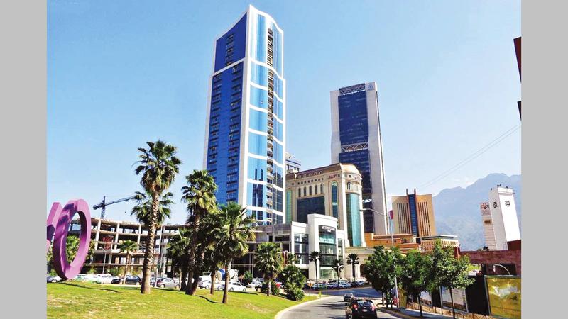 مدينة سان بيدرو غارزا غارسيا تضم أهم الشركات في البلاد.  أرشيفية