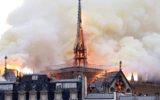الصورة: فيلم فرنسي عن حريــــق كاتدرائية نوتردام