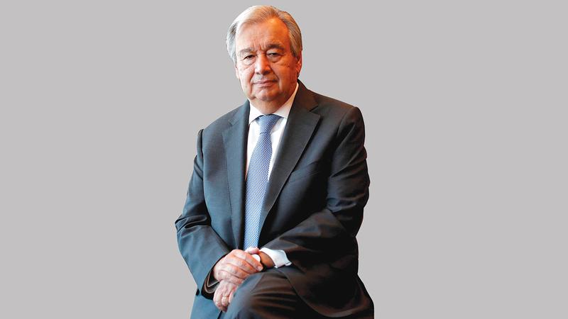 أنطونيو غوتيريس : الأمين العام للأمم المتحدة