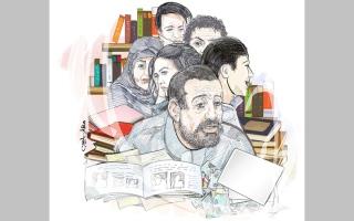 الصورة: «أبومروان» يعجز عن سداد 33 ألف درهم متأخرات دراسية وإيجارية
