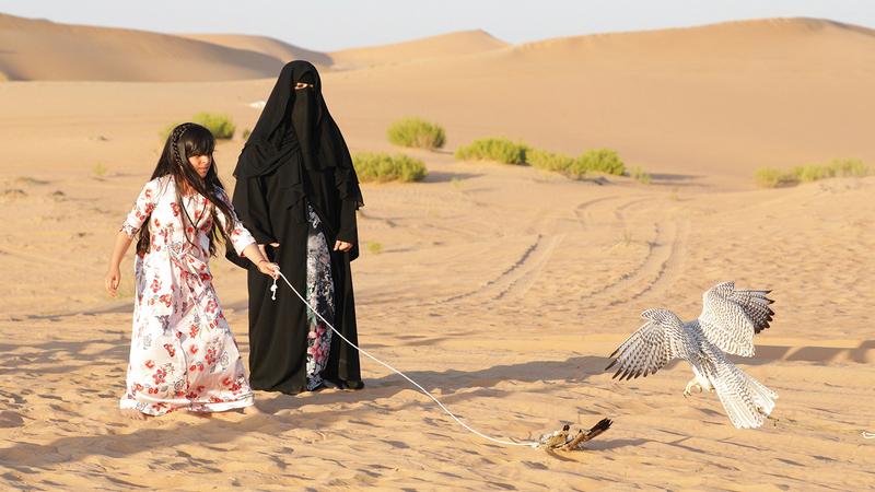 «المدرسة» أوّل منصّة رائدة مُتخصّصة على مستوى العالم في تعليم فن الصقارة العربية.   من المصدر