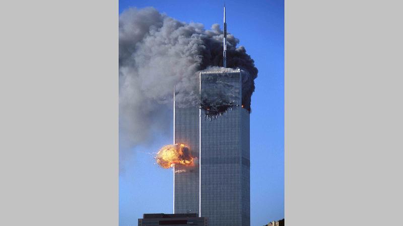 أحداث 11 سبتمبر دفعت الكثير من الشابات والشبان إلى التطوع في الجيش الأميركي.    د.ب.أ