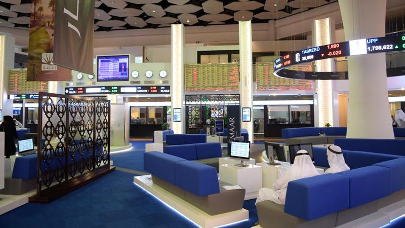 المؤشر العام لسوق دبي المالي ارتفع بنسبة 0.71% عند مستوى 2619 نقطة.  أرشيفية