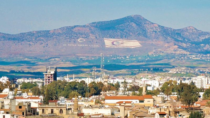 تركيا تصر على حل الدولتين في جزيرة قبرص.À  أرشيفية