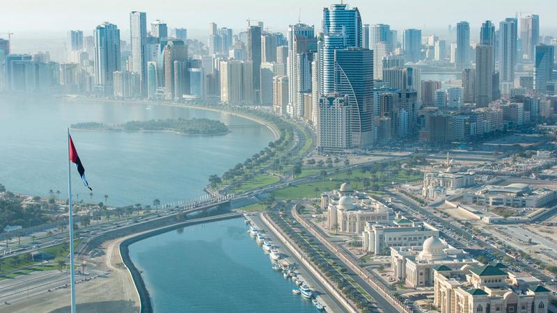 التطوير العقاري من أهم الأنشطة الاقتصادية في إمارة الشارقة.   أرشيفية
