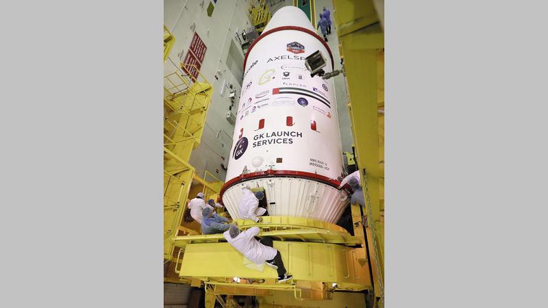 «دي إم سات 1» مزوّد بأحدث تقنيات الرصد الفضائي البيئي في العالم.  من المصدر