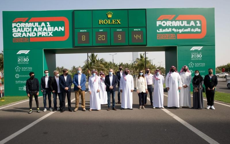 """الصورة: بالفيديو.. السعودية تكشف عن أسرع حلبة سباقات في """"الفورمولا1"""""""