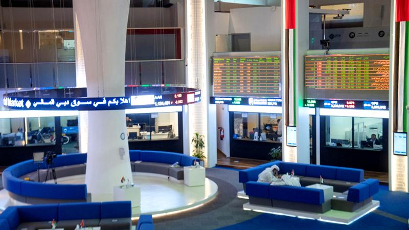 المؤشر العام لسوق دبي المالي أغلق عند مستوى 2604 نقاط.  أرشيفية