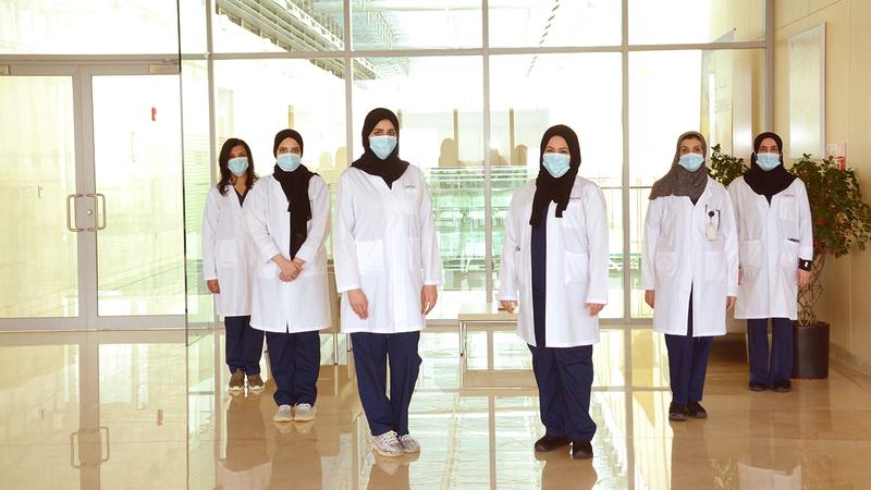 حملة «النساء يعتنين بالنساء» تهدف إلى إيجاد بيئة مثالية ومريحة للمريضات.  من المصدر