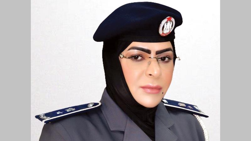 المقدم آمنة البلوشي:  «القيادة تدعم  وتثق بقدرات  المرأة الإماراتية، وتمكنها في جميع  المجالات».