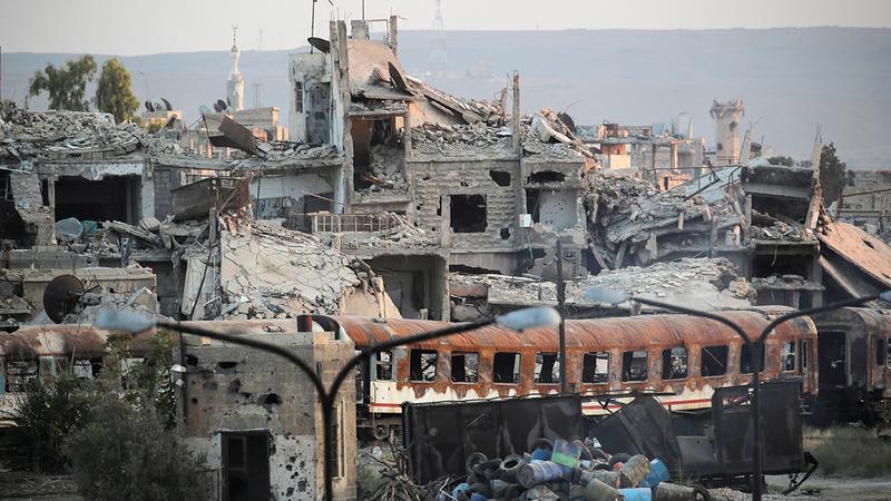 صور الدمار في كل مكان بسورية نتيجة الحرب الأهلية.    رويترز