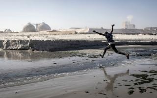 """الصورة: """"هان"""".. أجمل خلجان السنغال يتحول إلى مستنقع للأمراض"""