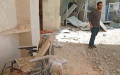 الصورة: ضربات جوية تركية على منطقة كردية في سورية للمرة الأولى منذ 17 شهراً