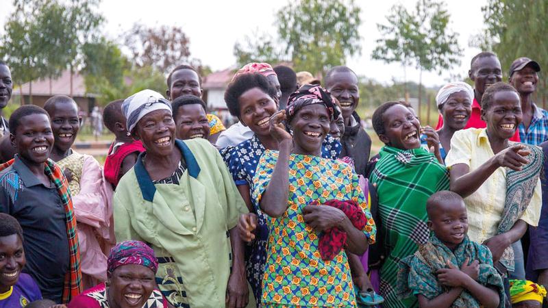 سكان أوكيري فرحون بحال مدينتهم.   من المصدر