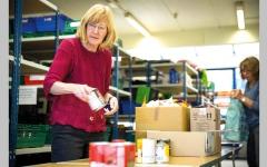 الصورة: ارتفاع الإقبال على بنوك الطعام في بريطانيا