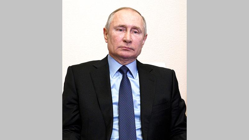 بوتين قال في نهاية 2020 إنه ليس هناك حاجة لتحالف عسكري رسمي بين روسيا والصين، لكنه لم يستبعد ذلك مستقبلاً.  أ.ب