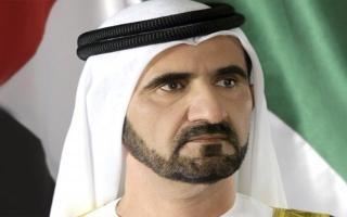 الصورة: محمد بن راشد يصدر مرسوماً بشأن تنظيم استخدام تقنية الطباعة ثلاثية الأبعاد بأعمال البناء في دبي