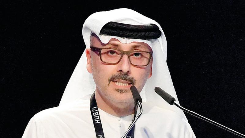 وليد المقرب المهيري: «رغم تحديات وباء (كوفيد-19)، تمكنت الشركة من العودة إلى تحقيق الأرباح في عام 2020».