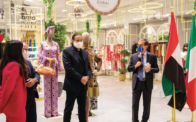 الصورة: «الأزياء الإيطالية في دبي» مجموعات لربيع وصيف 2021