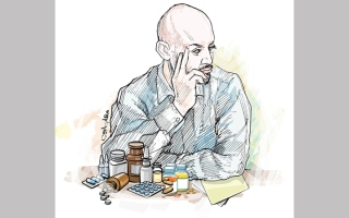 الصورة: «معين» يحتاج أدوية بـ 31 ألف درهم لـ 6 أشهر