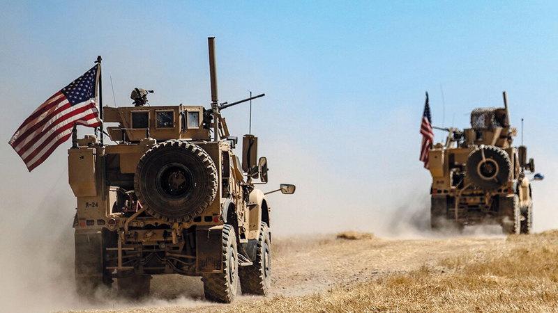 تعزيز الوجود الأميركي عسكريا ً يظل ورقة لعدم التنازل عن مساحة النفوذ في سورية.  أرشيفية